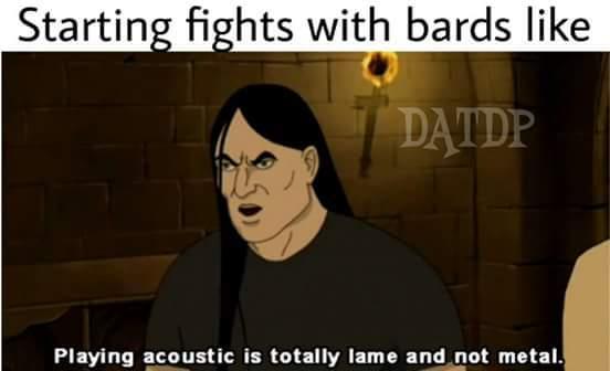 Not metal - meme