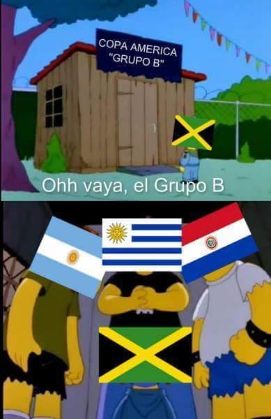 Pobre Jamaica :'v - meme