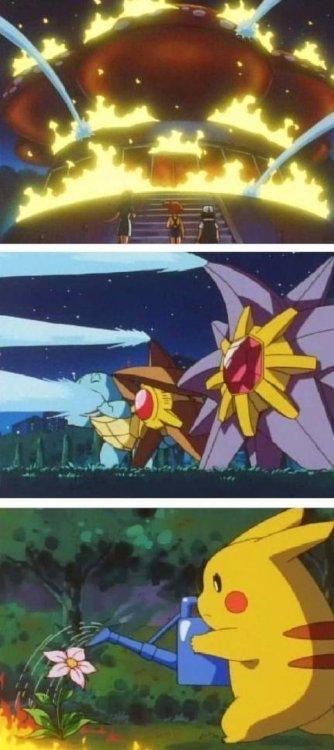 Pikachu va a su ritmo - meme