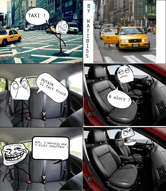 Les uber ils ont le chauffage au moins. - meme