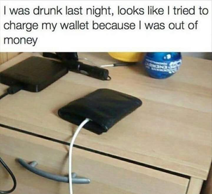 Drunk nights - meme