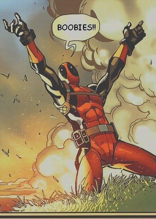 Oh how we all love Deadpool - meme