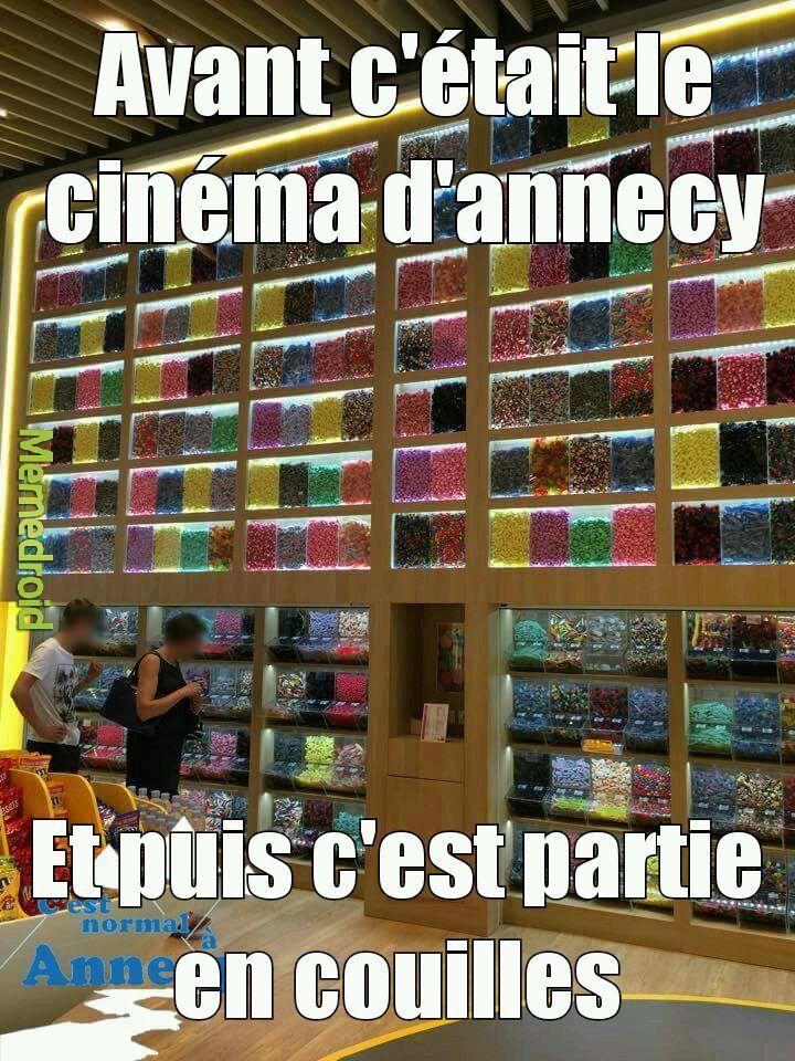 Avant c'etais une cinema - meme