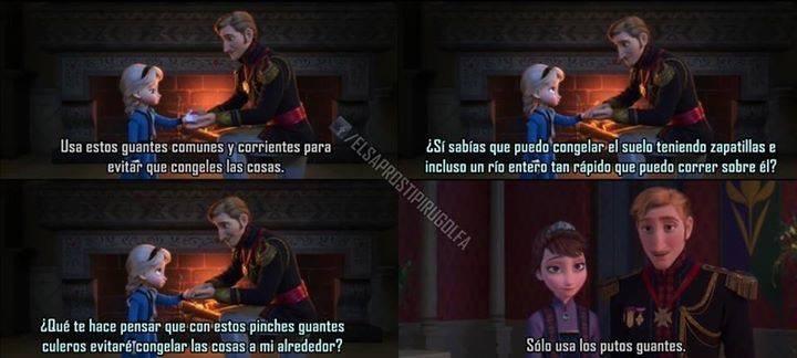 lógica de Disney - meme