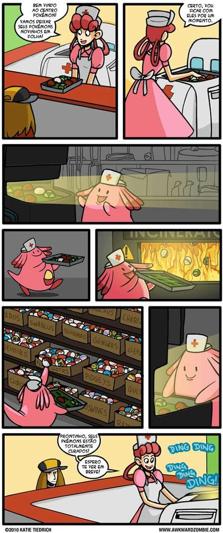 A verdade sobre pokemon... - meme