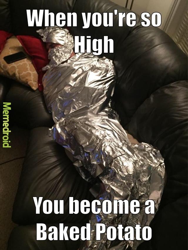 baked potato - meme