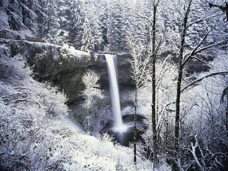 frozen waterfall - meme