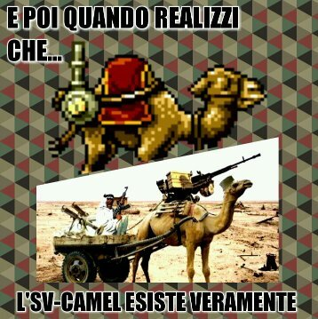 Realizzi che... SV-Camel - meme