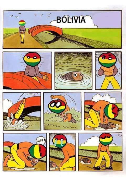 Pobre bolivia :'v - meme