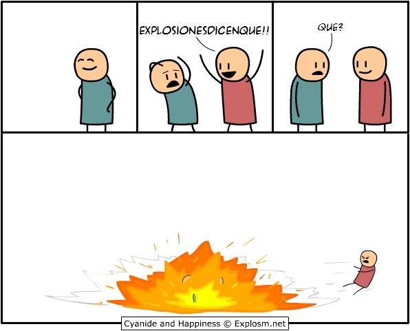 explosionesdicenque :v caboom boom manaababaaa kfdnlskx - meme