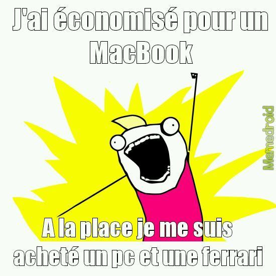 L'arnaque par Apple - meme