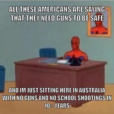 Guns just for Funs - meme