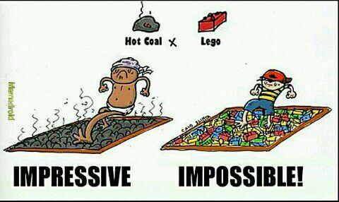 Lego impossible - meme