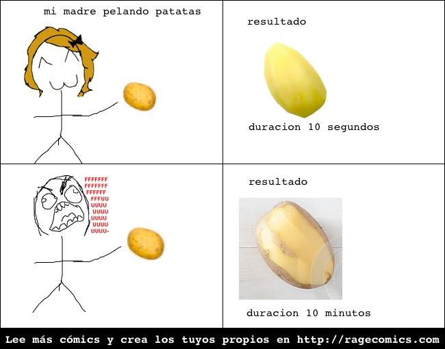Patatas.... - meme