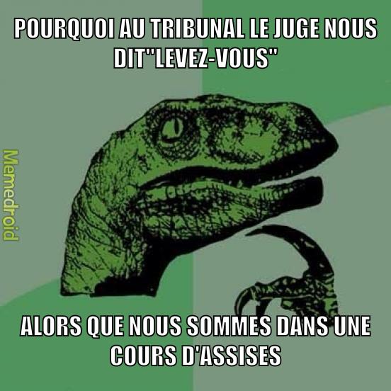 Les juges... - meme