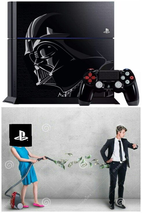 Star Wars PS4 - meme