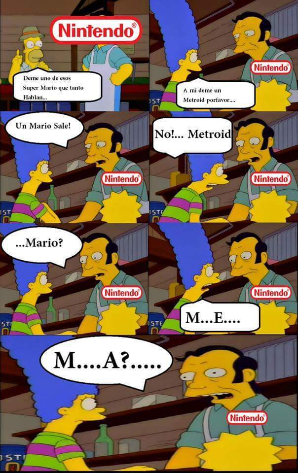 Nintendo hoy en dia - meme