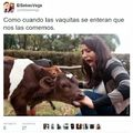 La vaca se comió el título