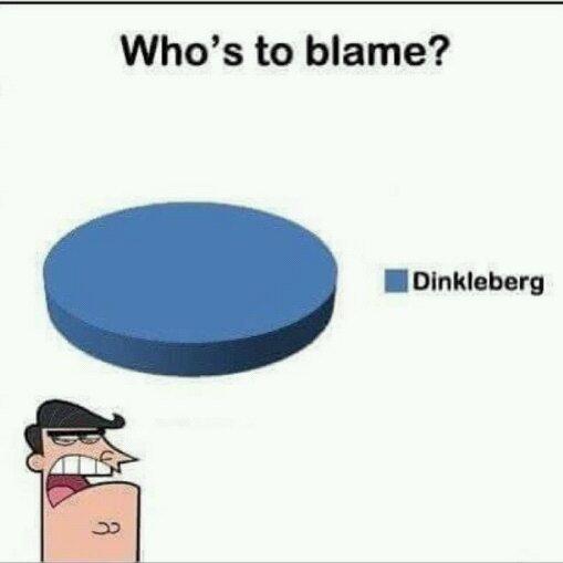 Dinklebeeeeeerg - meme