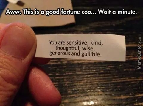 good fortune Co - meme