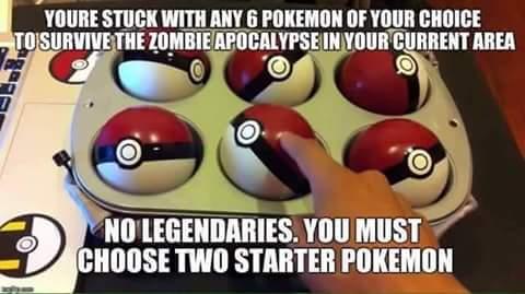Pikachu, Froakie, Noivern, Tyrantrum, Gardevoir, Delphox - meme