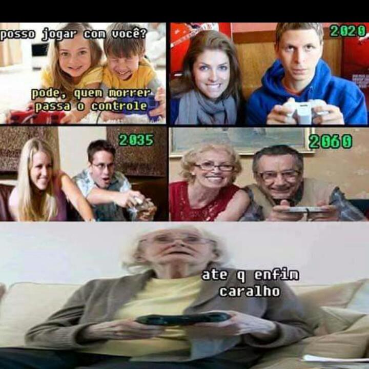 Quem morrer passa o controle - meme