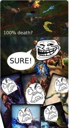 league of legends - meme