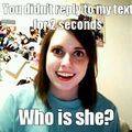 I realized ive become overly attached girlfriend