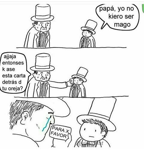 La magia - meme
