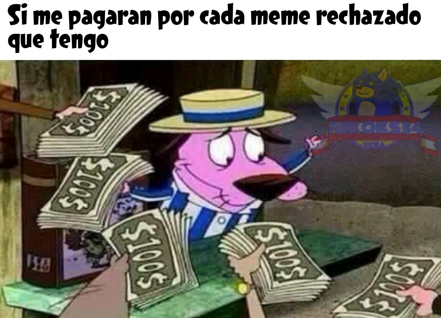 Soy millonario :u - meme