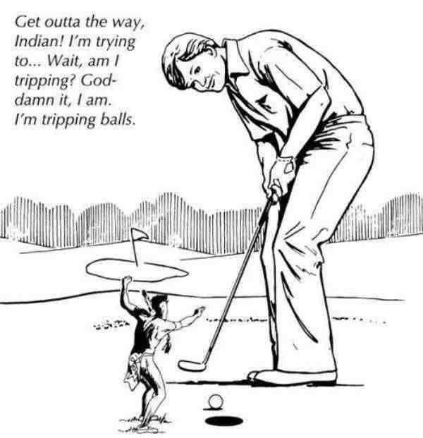Always happens on the 12th hole - meme