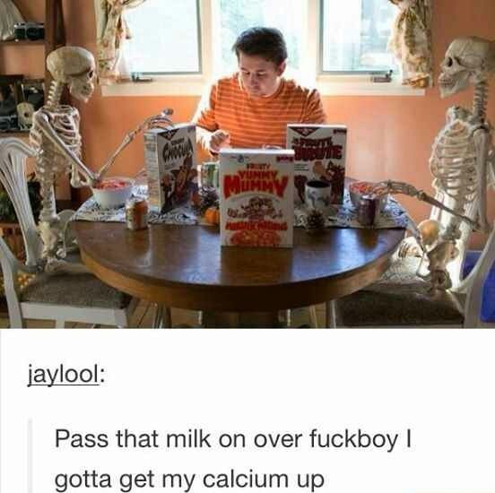 Spooky scary skeleton - meme