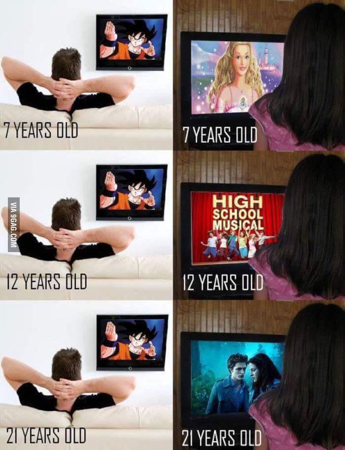 Boys VS. Girls - meme