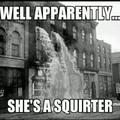 She shot