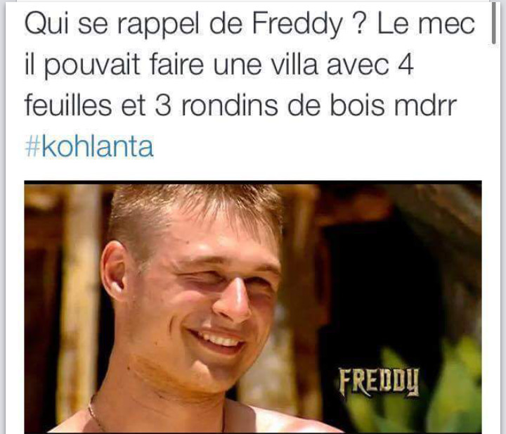 Freddy le bricoleur - meme