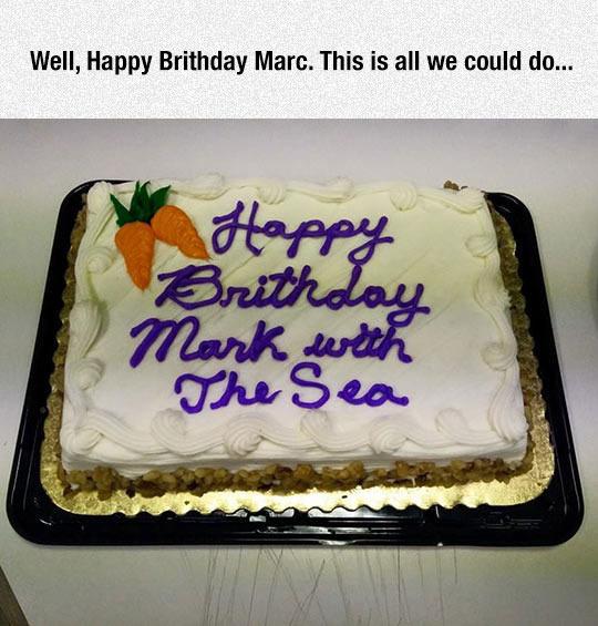 Marc must be a sailor! - meme