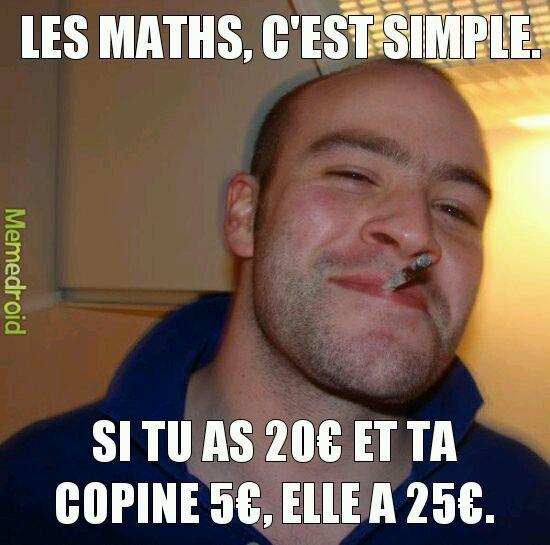 Maths. - meme