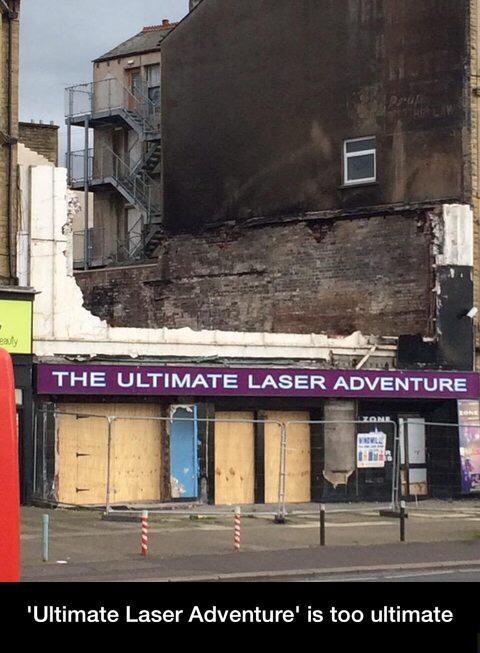Laser adventure - meme