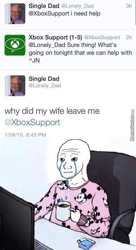 Single Dad - meme