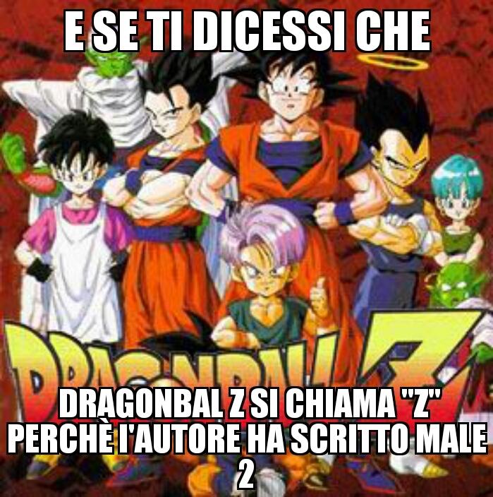 Dragonball 2 - meme