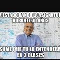 Profesores odiosos :v