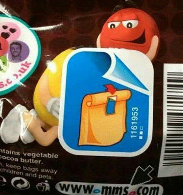 Peur de retirer l'étiquette... - meme