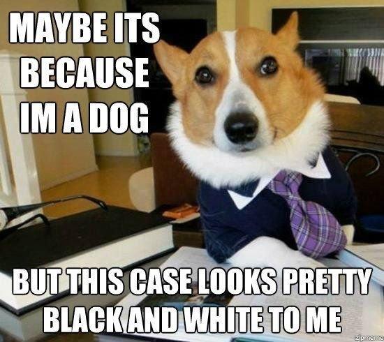 Get it...black and white - meme