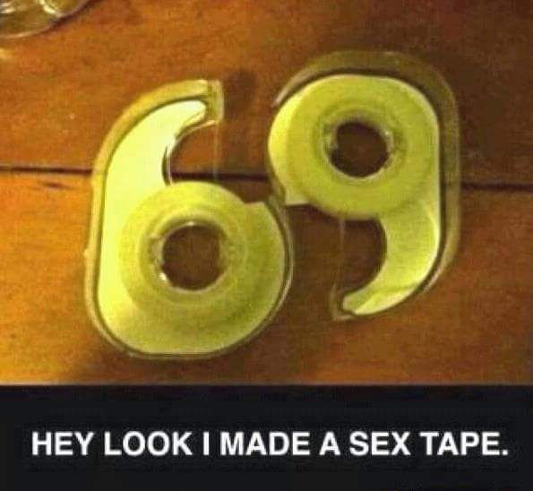 My sex tape - meme