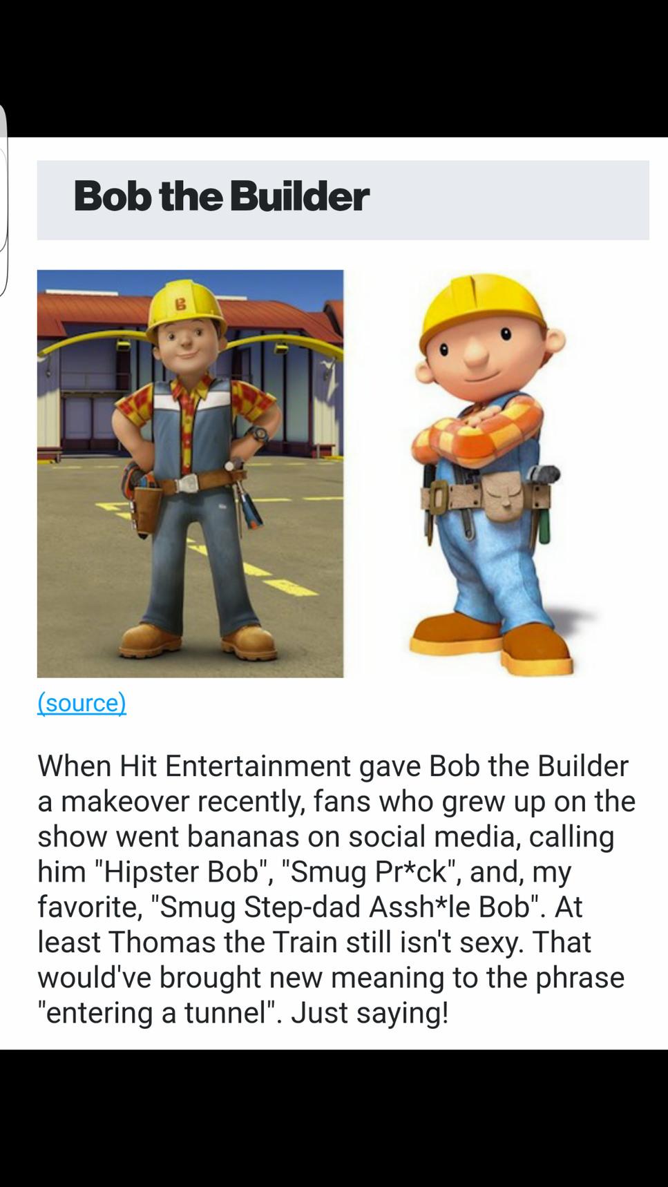 Bob the smug bastard - meme