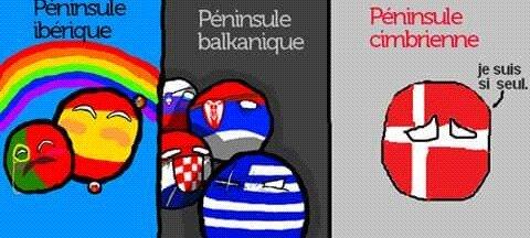 PollandBallbd : Péninsule sans amis - meme