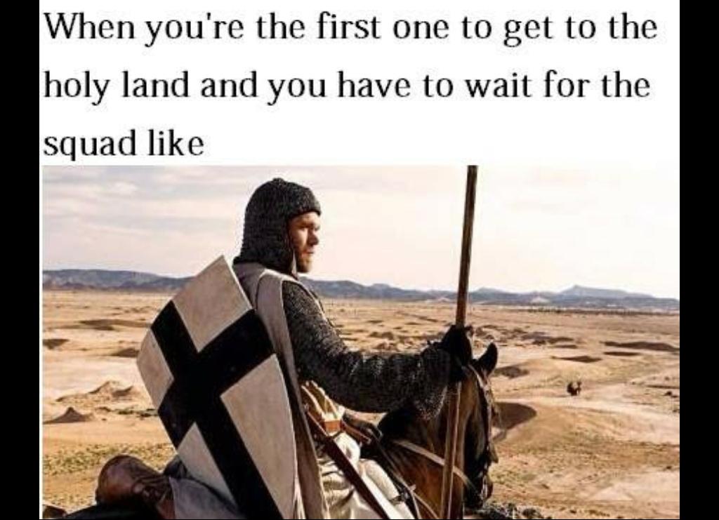 Saladin is a kunt - meme