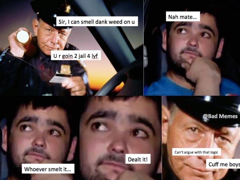 dank weed - meme