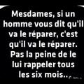 Les hommes...