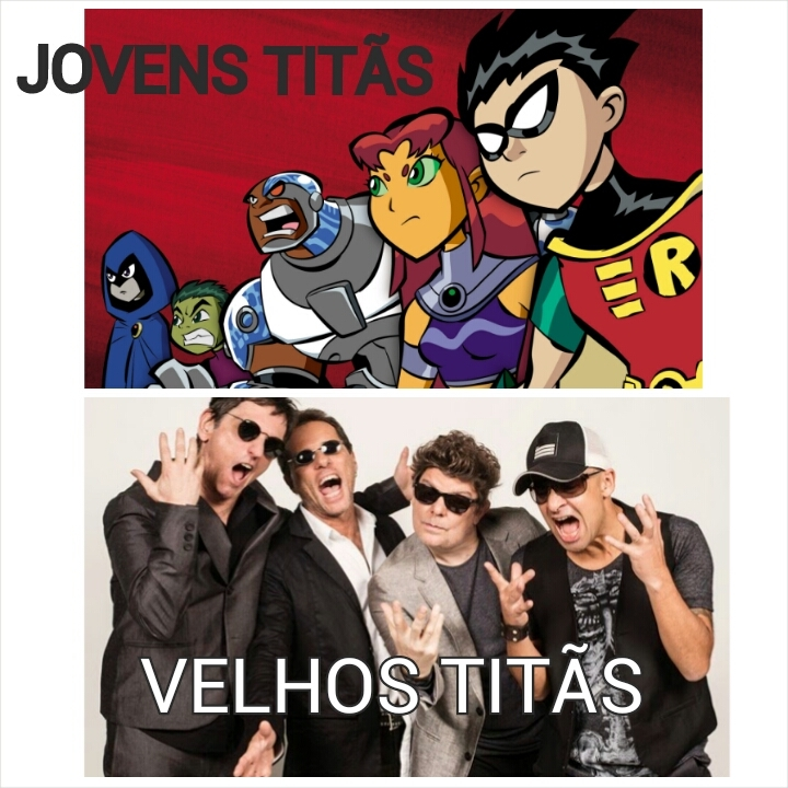 Titãs - meme